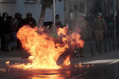 Alcalde Alessandri defiende actuar de Carabineros en desalojo de Instituto Nacional