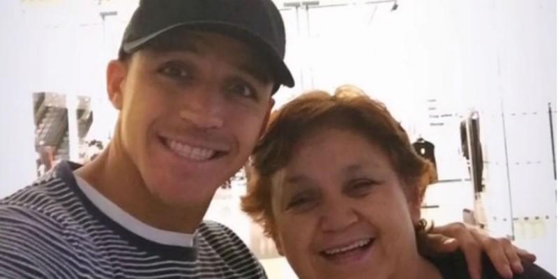 FOTOS | Las palabras de Alexis Sánchez a su mamá para celebrar el Día de la Madre