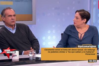"""El encontrón entre Beatriz Sánchez e Ignacio Walker por """"piropos buenos y malos"""""""
