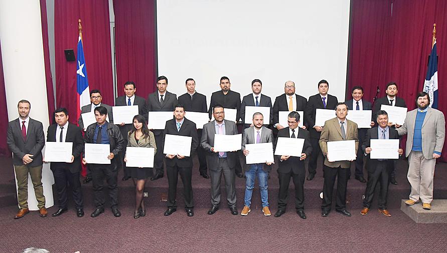 Más de 100 trabajadores contratistas de ENAP Refinería Aconcagua se titularon como Técnico en Nivel Superior