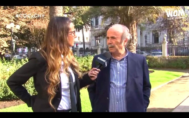 """VIDEO  """"¡Han hecho una carnicería!"""": histórico actor de TVN se descontrola para defender a Herval Abreu"""