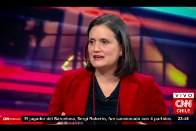 """VIDEO  Laura Albornoz: """"También hay prácticas sexistas respecto del rol de las académicas en universidades"""""""