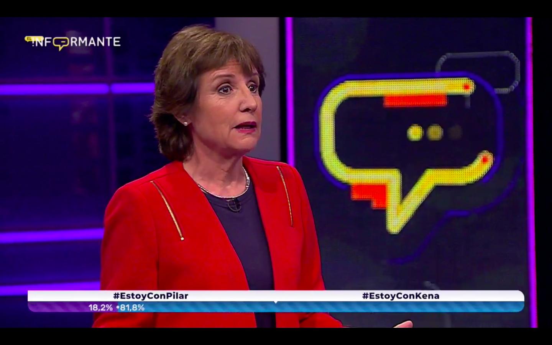 VIDEO |Pilar Molina metió las patas en El Informante