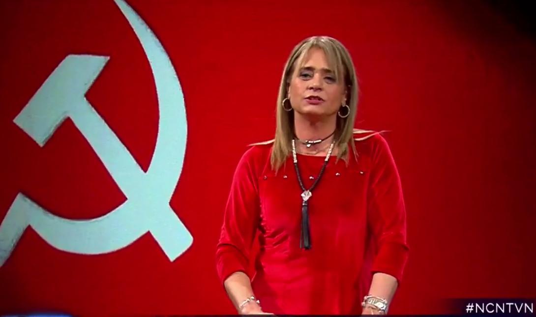 """El video donde Jacqueline van Rysselberghe apoya a Cuba, la adopción homoparental y canta """"El pueblo unido"""""""