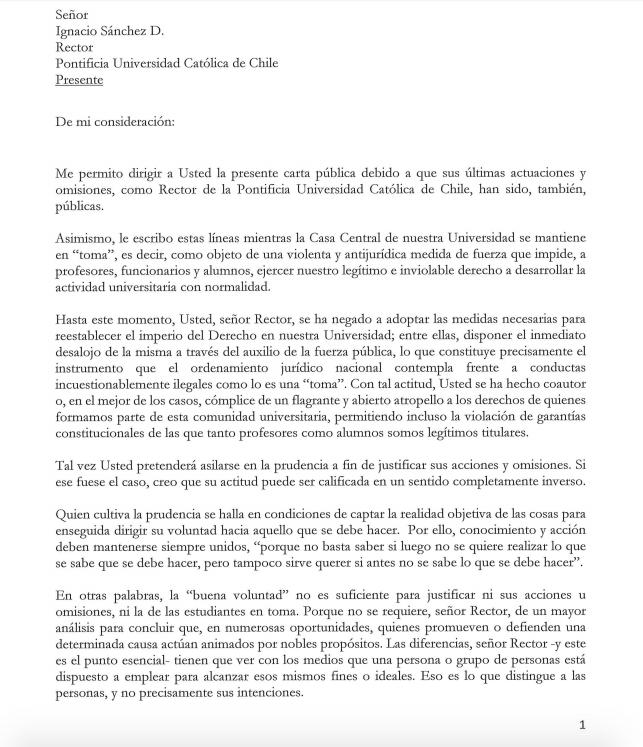 Carta de profesor titular de derecho con crticas al rector snchez leer artculo completo thecheapjerseys Choice Image