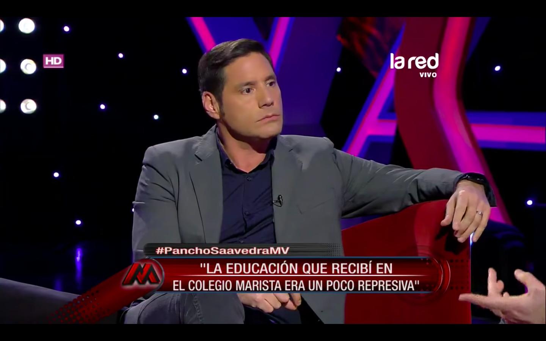 """""""VIDEO   Pocos rostros de TV se lanzaron tan duro contra la Iglesia chilena como Pancho Saavedra"""""""