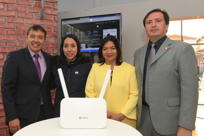 Internet fijo inalámbrico de alta velocidad llega a los hogares de La Pintana