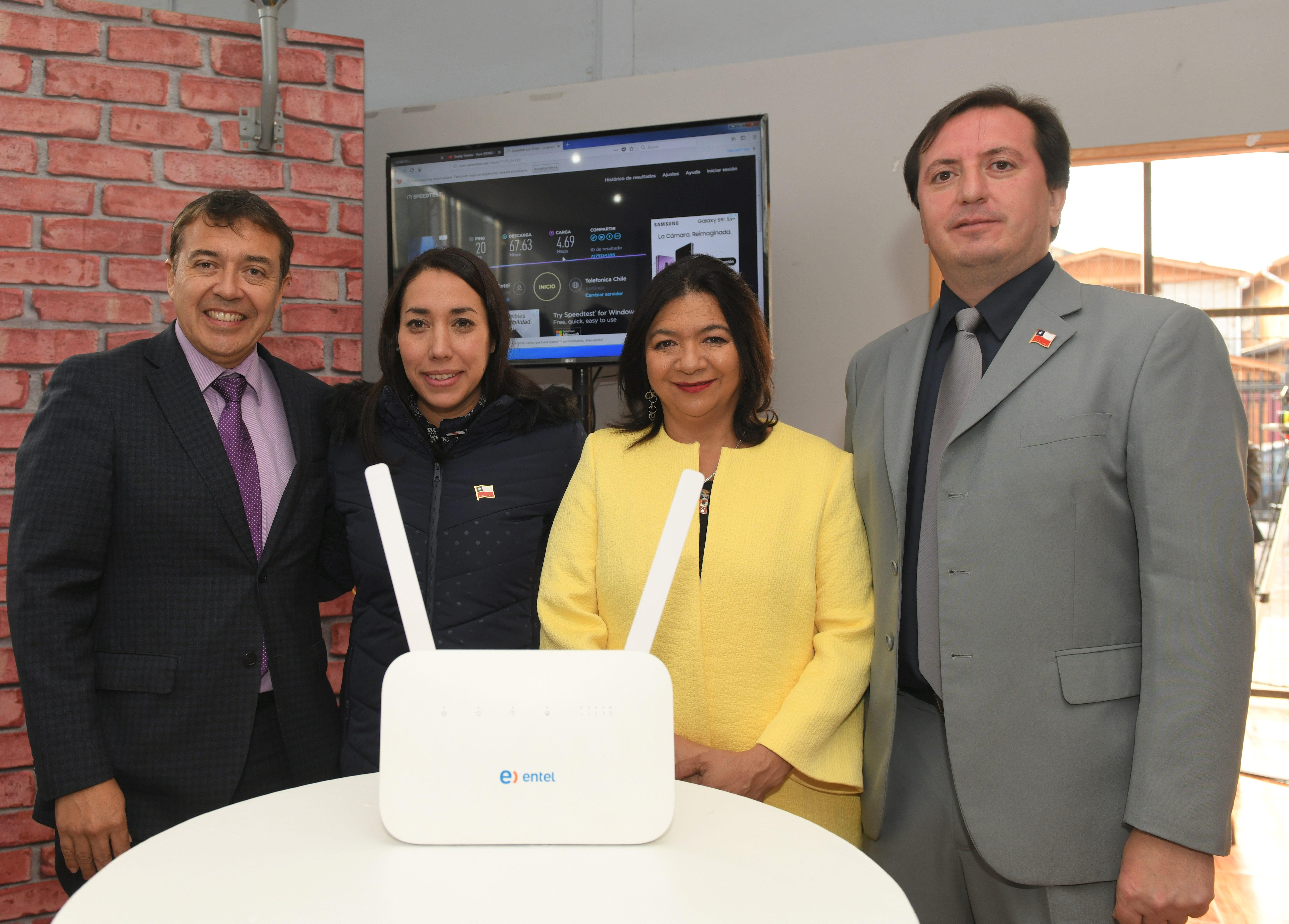 08934b212e4 Internet fijo inalámbrico de alta velocidad llega a los hogares de La  Pintana - El Dínamo