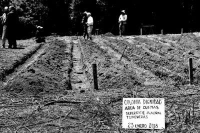 Descubren lugar donde alemanes quemaron a fusilados de Colonia Dignidad
