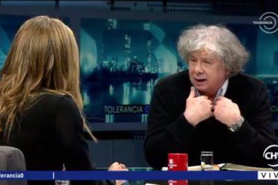Fernando Villegas responde a conspirativos que apuntaban a Mónica Rincón por su salida de Tolerancia 0