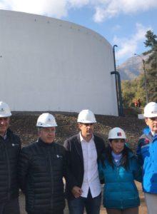 Inauguran estanques de emergencia que aumentan la autonomía del servicio de agua potable en Santiago