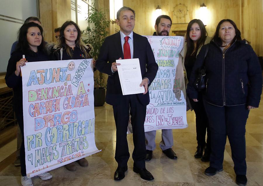 Suspenden a madre de Giorgio Jackson de la Junji tras denuncias de acoso y maltrato laboral