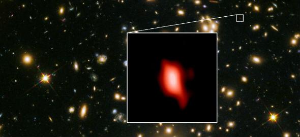 Equipo de astrónomos con integrantes chilenos detecta galaxia que se formó poco después del Big Bang