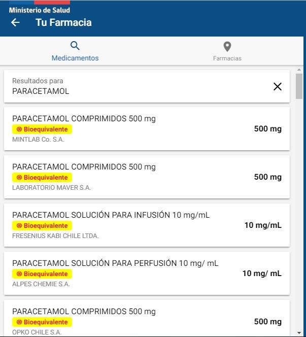 Gobierno lanza comparador de precios de medicamentos en farmacias