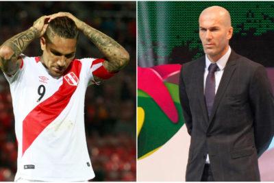 Paolo Guerrero y Zinedine Zidane: las dos noticias que paralizaron el planeta fútbol
