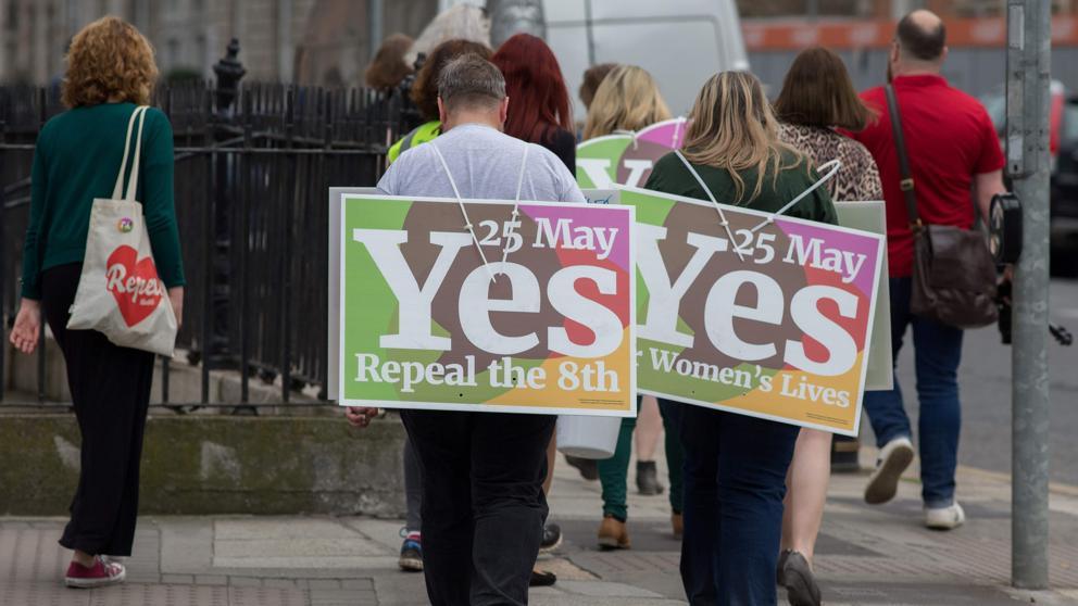 """""""Referéndum en Irlanda: el 68% se mostró a favor de legalizar el aborto"""""""