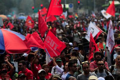 Revisa los desvíos de tránsito por las dos marchas convocadas para este 1 de mayo