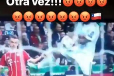 """""""Ratones"""": El Real Madrid elimina al Bayern y Vidal desata su furia"""