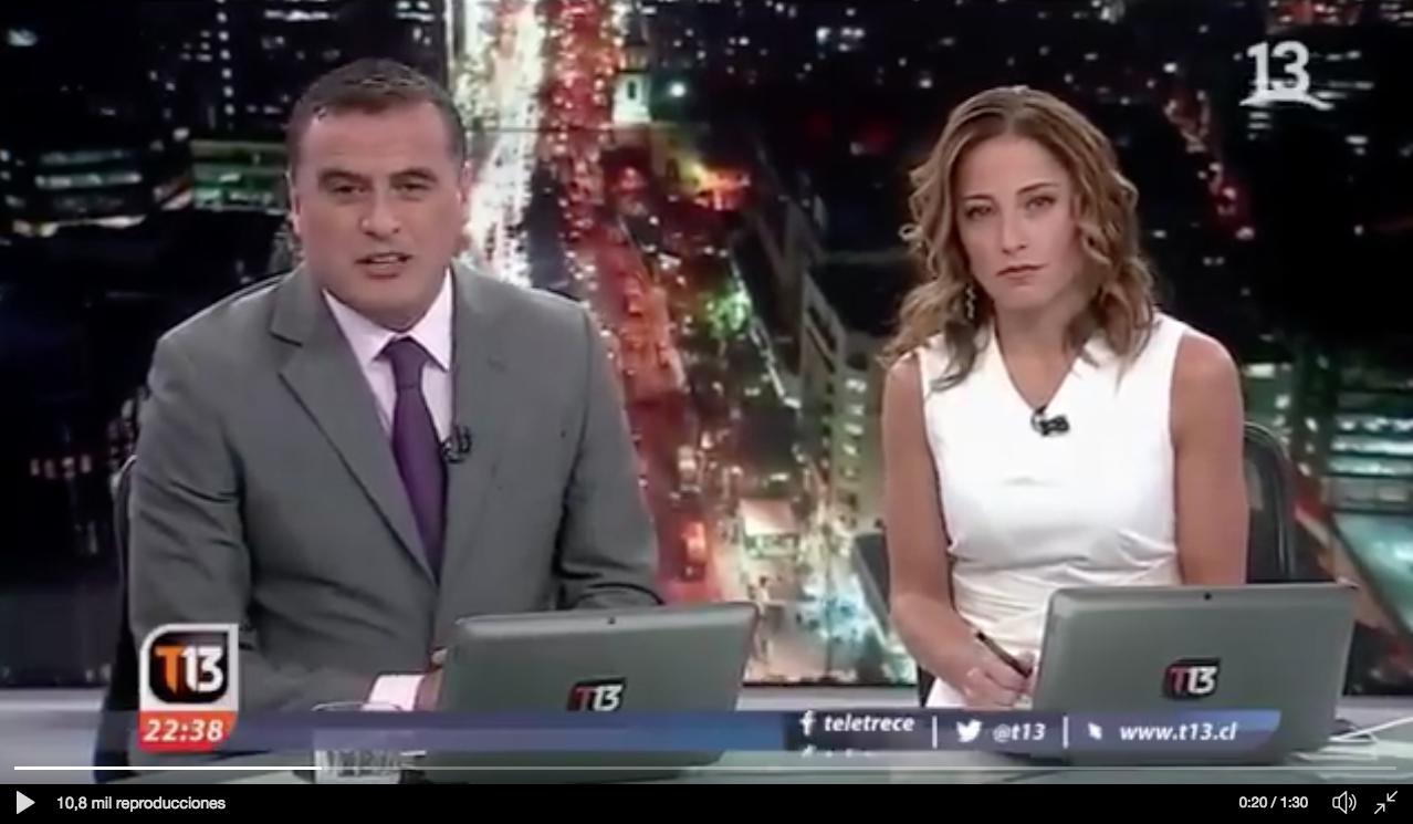 VIDEO | Periodistas se quiebran en el cierre del noticiario al hablar de los despidos en Canal 13