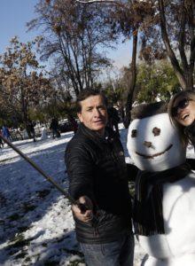 Nieve en Santiago: los puntos donde podría registrarse el fenómeno climático este fin de semana