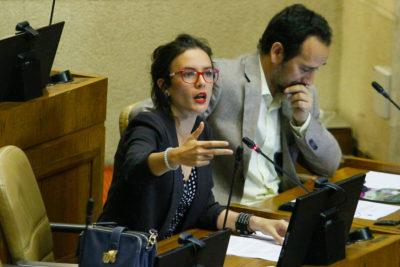 """""""Eso dejó sin reajuste a trabajadores"""": Camila Vallejo asegura que Salario Mínimo no se aprobó por culpa de Chile Vamos"""