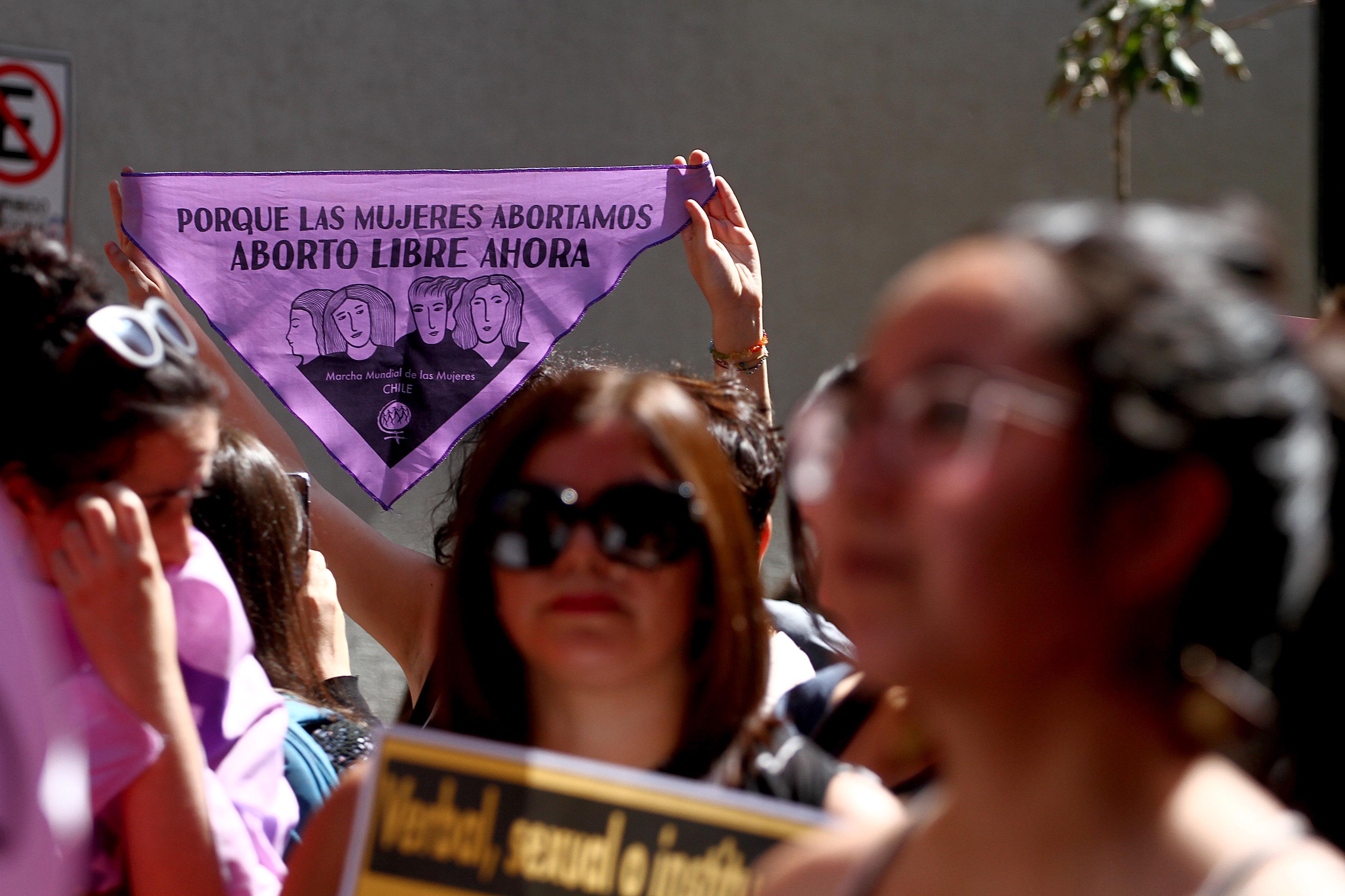"""""""Ya no bastan las tres causales"""": la marcha pro aborto libre que se realizará este miércoles"""