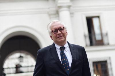 Jorge Burgos renuncia a defensa de ministro Santelices en acusación constitucional