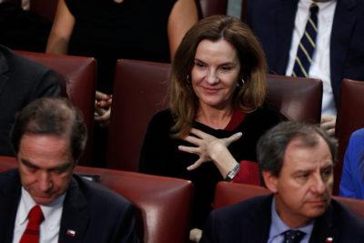 """Chahuán perdió el control: """"A la ministra de Cultura la debieran haber hecho salir a patadas. ¡A patadas!"""""""