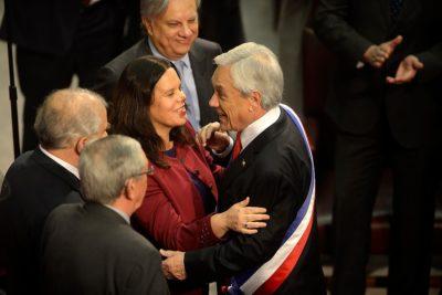 """Piñera reitera que frase a Maya Fernández no es machista, pero """"no se la diría un hombre"""""""