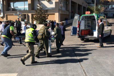 Carabinero muere tras ser baleado en la cabeza con una subametralladora en La Pintana