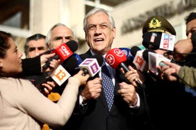 """Piñera e inmigrantes: """"No es lógico que alguien venga a cobrar el Bono Marzo y se vaya del país"""""""