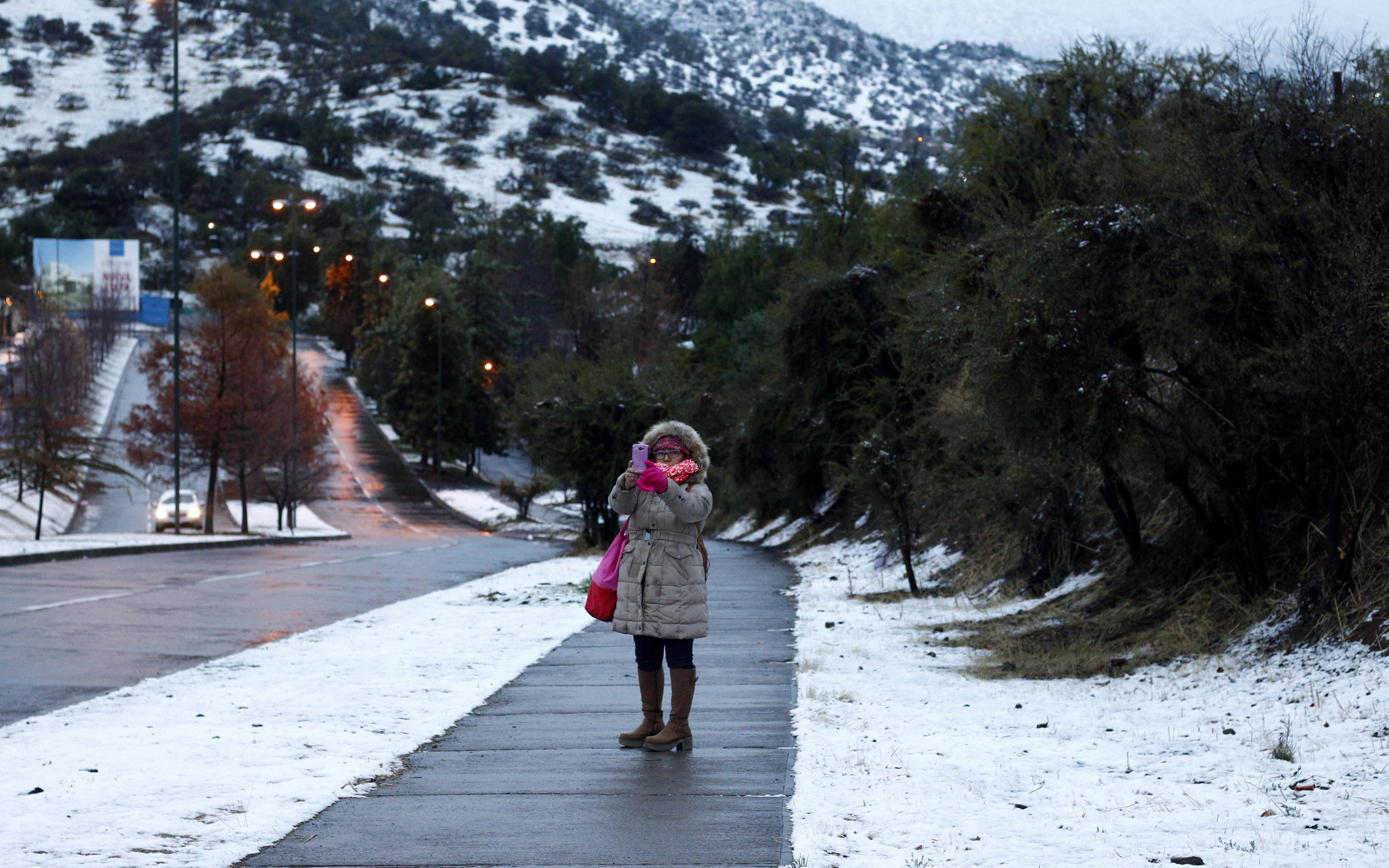 """""""Onemi advierte sobre nueva ola de frío para los próximos días: hasta -4 grados"""""""