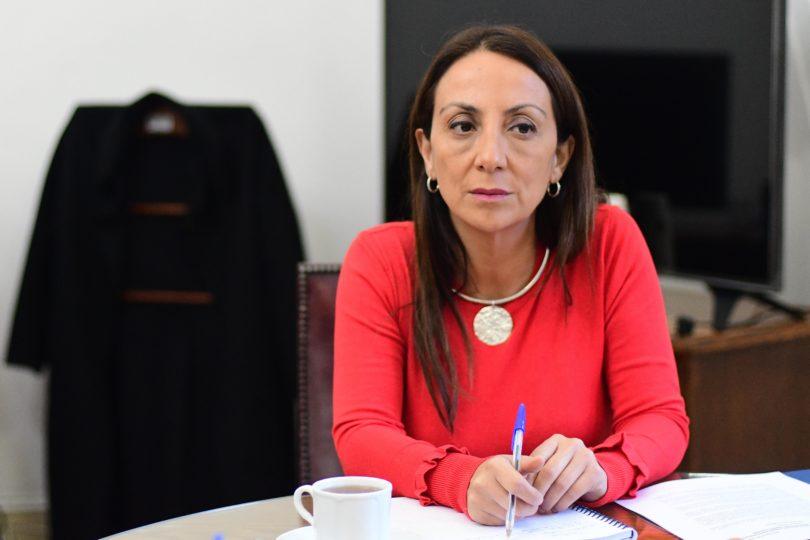 VIDEO |Cecilia Pérez hablaba sobre violencia contra la mujer y le preguntaron por frase de Piñera a Tomás González