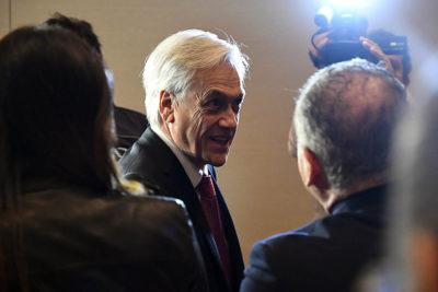 """Piñera advierte al Poder Judicial: """"Aunque saturemos los Tribunales, vamos a seguir haciendo vigilancia preventiva"""""""