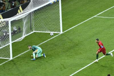 VIDEO  Grosero error de De Gea tras fácil tiro de Cristiano Ronaldo se transforma en el primer fail de Rusia 2018
