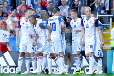 Todos frente a la TV: el 99% de los islandeses vio el histórico empate ante Argentina