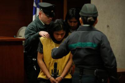 """Familiares de detenidos por muerte en barrio República piden disculpas """"al pueblo chileno"""""""