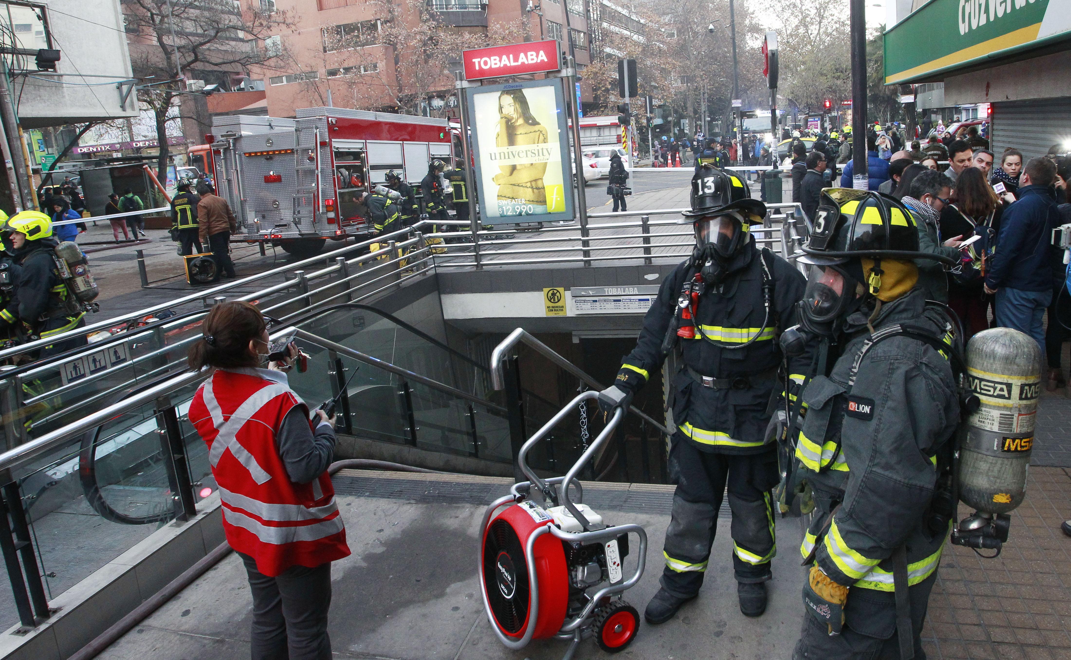Metro de Santiago entrega detalles del incidente en estación Tobalaba en Línea 1