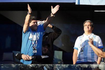 La FIFA se cansó de Maradona