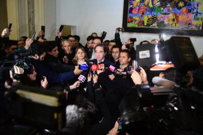 Gobierno llega a acuerdo con gendarmes movilizados y evita paro nacional