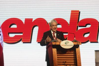 """Piñera llama a la oposición a destrabar Ley Antiterrorista en medio de críticas por """"sequía legislativa"""""""