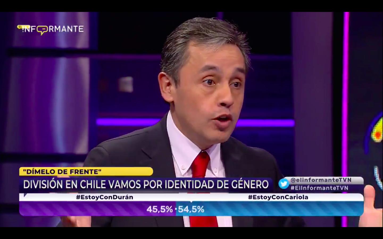 """VIDEO   Diputado evangélico Eduardo Durán estaba feliz hablando de"
