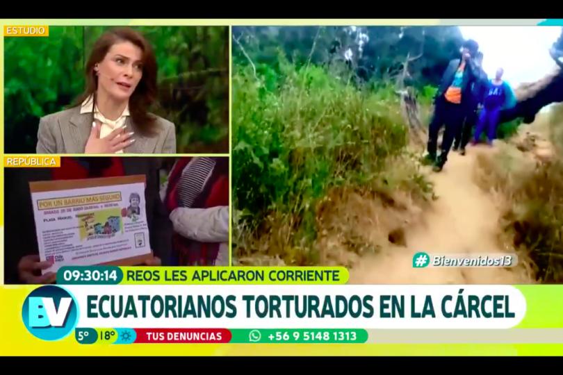 VIDEO  El momento en que Tonka Tomicic aplaude torturas a imputados por homicidio en Barrio República