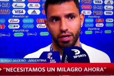 VIDEO | La entrevista post-partido del Kun Agüero que evidenció el quiebre total del equipo con Sampaoli