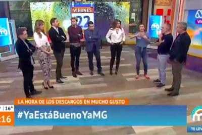 VIDEO |En el Mucho Gusto se dijeron de todo luego que Karol Lucero defendiera a Tonka y Bravo por torturas a presos