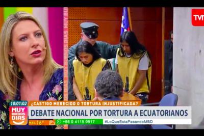 VIDEO  Macarena Tondreau incendia todo con frases para defender la tortura a los imputados por asesinato