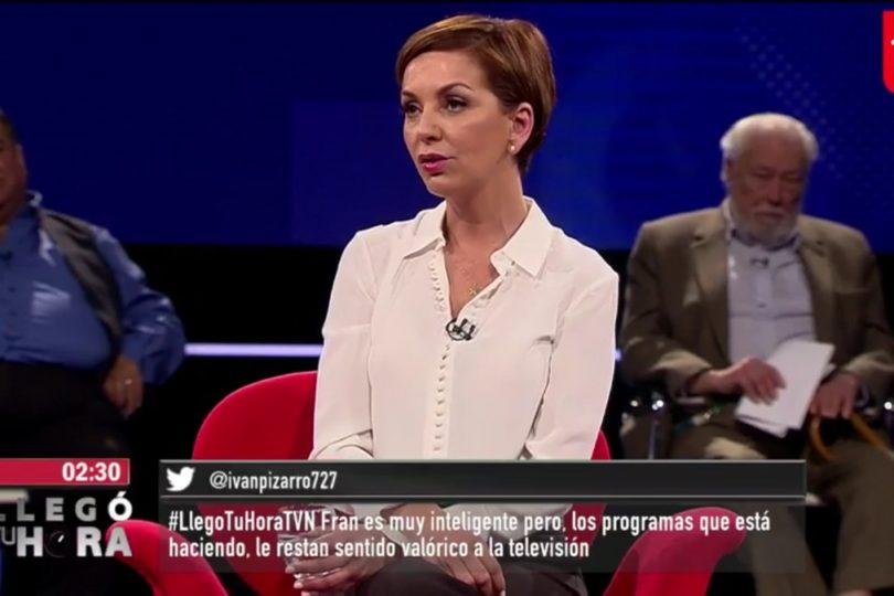 """""""Niña símbolo de la TV basura"""": round entre Fran García-Huidobro y el Rumpy salpicó hasta a la Iglesia"""