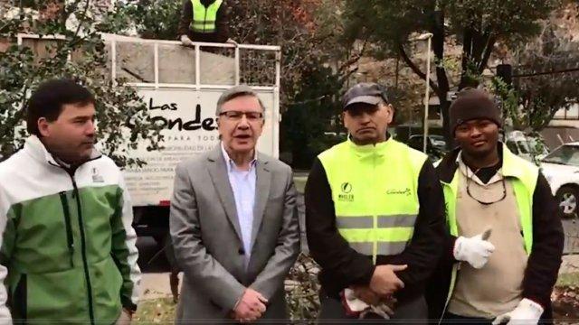 """""""Las Condes sancionará por acoso callejero a mujer que insultó a recolectores"""""""