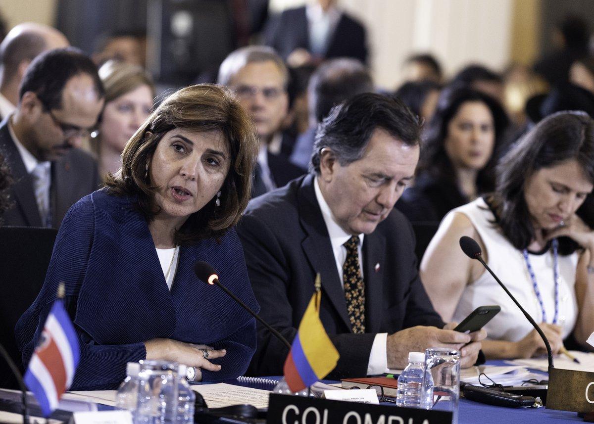 """""""OEA aprueba resolución que abre la puerta a la suspensión de Venezuela"""""""