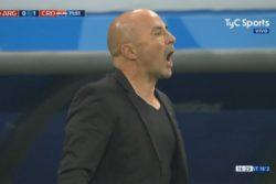 "VIDEO | La peor cara de Sampaoli: trató de ""cagones"" a los jugadores de Croacia"